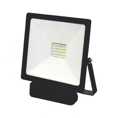"LED floodlight with microwave sensor ""TOLEDOSENS"" 30W 2"