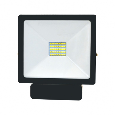 "LED floodlight with microwave sensor ""TOLEDOSENS"" 30W 3"