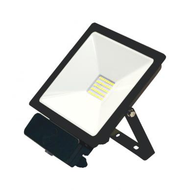 "LED floodlight with microwave sensor ""TOLEDOSENS"" 30W 4"