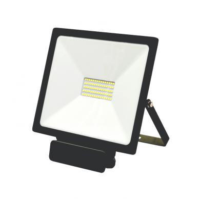 "LED floodlight with microwave sensor ""TOLEDOSENS"" 50W 2"