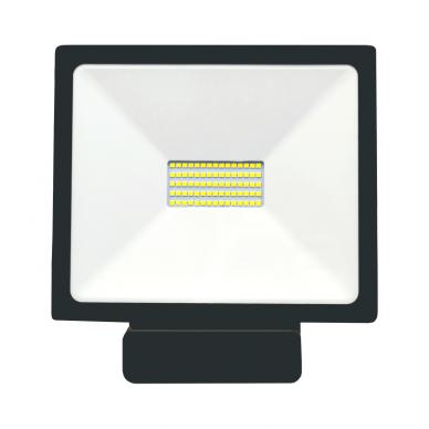 "LED floodlight with microwave sensor ""TOLEDOSENS"" 50W 3"