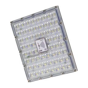 "LED floodlight with microwave sensor ""BRENTSENS"" 50W"