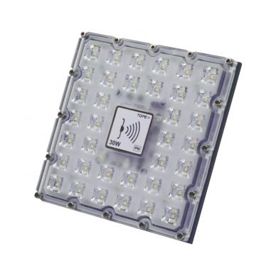 "LED floodlight with microwave sensor ""BRENTSENS"" 30W 3"
