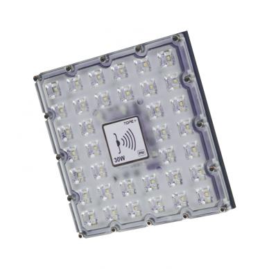 "LED floodlight with microwave sensor ""BRENTSENS"" 30W"