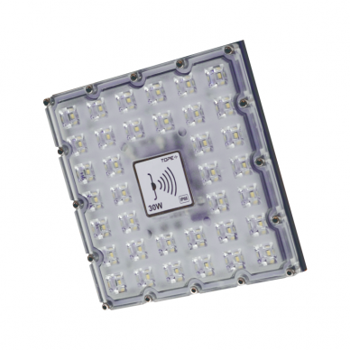 """LED lauko prožektorius su mikrobangų sensoriumi """"BRENTSENS"""" 30W"""