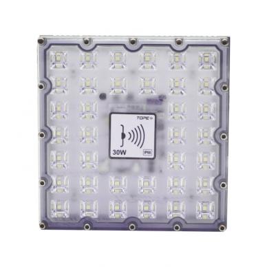 "LED floodlight with microwave sensor ""BRENTSENS"" 30W 4"
