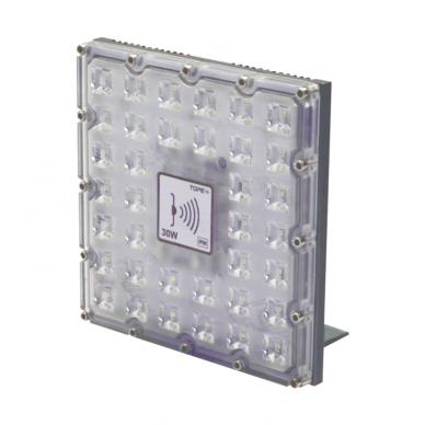 """LED lauko prožektorius su mikrobangų sensoriumi """"BRENTSENS"""" 30W 2"""