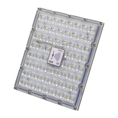 "LED floodlight with microwave sensor ""BRENTSENS"" 50W 3"