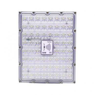 "LED floodlight with microwave sensor ""BRENTSENS"" 50W 4"