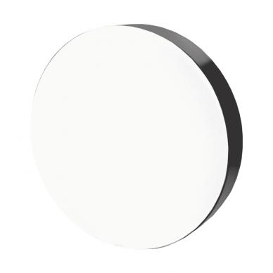 """Lubinis apvalus juodas LED šviestuvas """"MORA"""" 60W 2"""