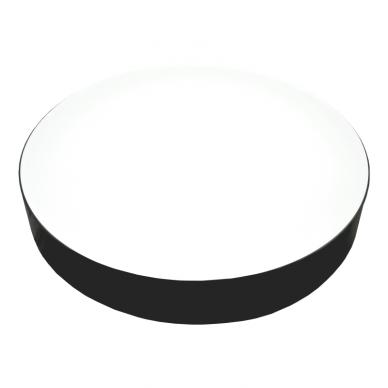 """Lubinis apvalus juodas LED šviestuvas """"MORA"""" 60W 3"""