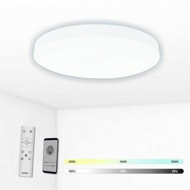 """Lubinis baltas LED šviestuvas """"BOSTON"""" 2x36W"""
