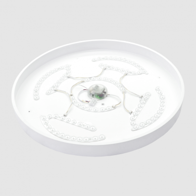 """Lubinis baltas LED šviestuvas """"BOSTON"""" 2x36W 12"""