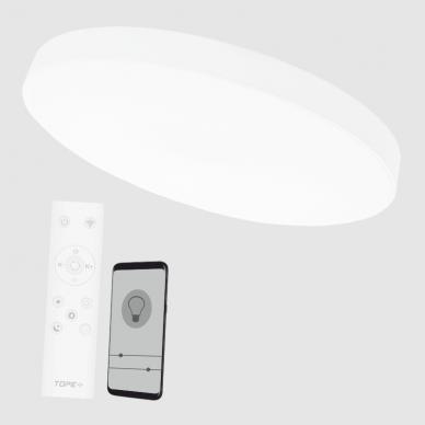 """Lubinis baltas LED šviestuvas """"BOSTON"""" 2x48W 5"""
