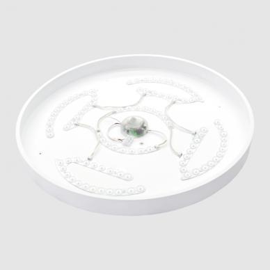 """Lubinis baltas LED šviestuvas """"BOSTON"""" 2x48W 12"""