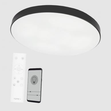 "Black LED ceiling light ""BOSTON"" 2x48W 5"