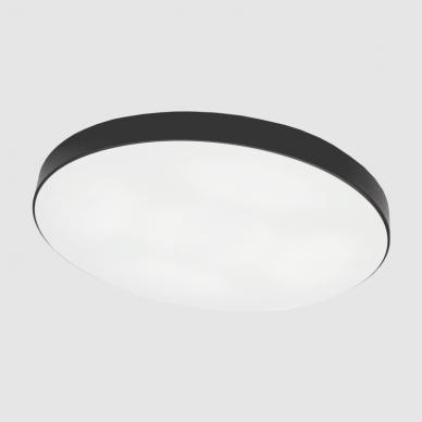 "Black LED ceiling light ""BOSTON"" 2x48W 6"
