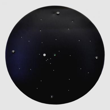 "Black LED ceiling light ""BOSTON"" 2x48W 11"