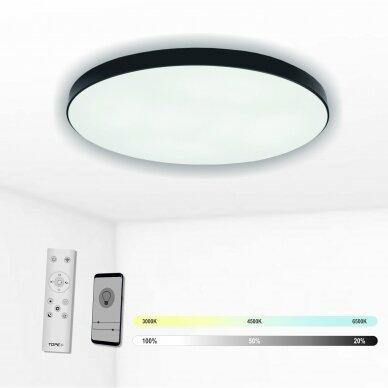 """Lubinis juodas LED šviestuvas """"BOSTON"""" 2x60W"""