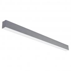 """Pakabinamas pailgas pilkas LED šviestuvas """"LIMAN"""" 72W"""