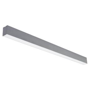 "Linear grey LED luminaire ""LIMAN"" 72W"
