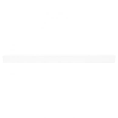 """Pakabinamas pailgas baltas LED šviestuvas """"LIMAN"""" 40W 6"""