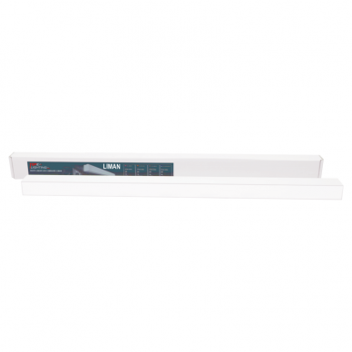 """Pakabinamas pailgas baltas LED šviestuvas """"LIMAN"""" 40W 7"""
