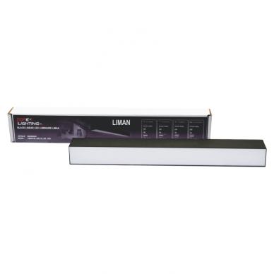 """Pakabinamas pailgas juodas LED šviestuvas """"LIMAN"""" 20W 6"""