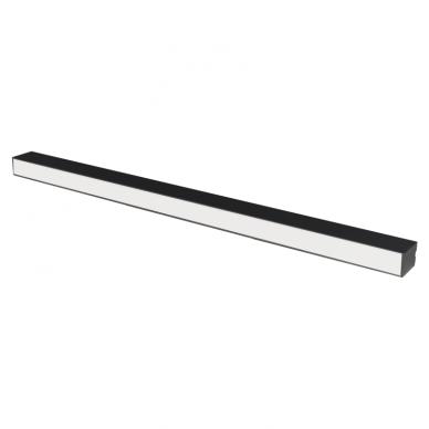 "Linear black LED luminaire ""LIMAN"" 40W"
