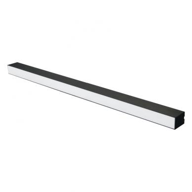 "Linear black LED luminaire ""LIMAN"" 40W 3"