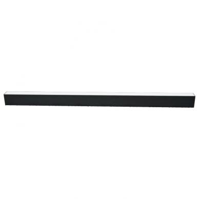 "Linear black LED luminaire ""LIMAN"" 40W 5"