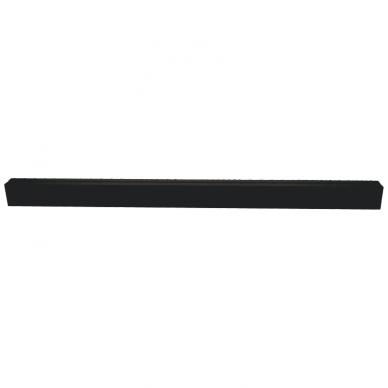 "Linear black LED luminaire ""LIMAN"" 40W 6"