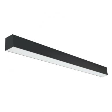 "Linear black LED luminaire ""LIMAN"" 40W 2"