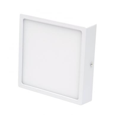 """Paviršinis kvadratinis LED šviestuvas """"MODENA"""" 16W 2"""
